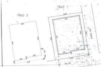 Bán gấp nhà 2 mặt tiền Lý Tự Trọng, Hải Châu, diện tích 136m2, mặt tiền 10m, 3 tầng. LH: 0976309907