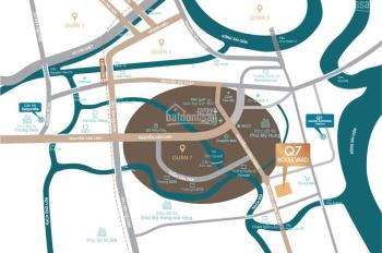 Thanh toán tiến độ 40tr/m2, ngay trung tâm Q7 - P. Phú Mỹ, căn hộ Q7 Boulevard LH: 0933 178 378