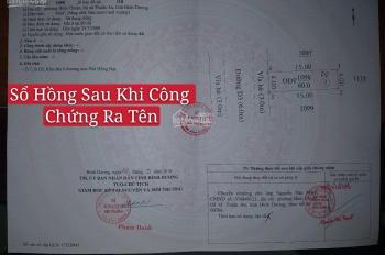 Cần bán đất tại Bình Chuẩn TX Thuận An, 3 mặt tiền DT743, có sổ riêng, giá 1 tỷ/nền DT 64m2