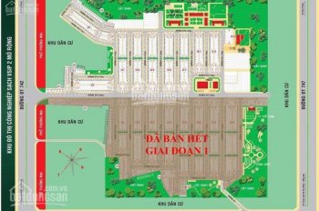 Còn 1 lô duy nhất dự án Hana Garden Mall, ngay cổng Vsip2, 680tr/nền, quy mô 42 ha. Có 2300 nền