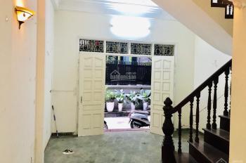 Cho thuê nhà chính chủ trong ngõ 131 Thái Hà có diện tích 54m2 x 5 tầng, ngõ ô tô, giá 15 tr/tháng