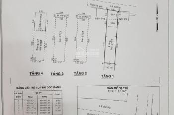 Gấp lắm rồi, chính chủ bán nhà 91 đường Số 1, CX Chu Văn An, DT 80m2, giá 13,9 tỷ - LH 0909946678