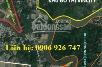 Chính chủ bán đất 3 MT sông Vinhomes Q9, đường trục chính 20m
