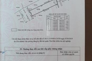 Bán 10 lô đất nền Hiệp Bình - Thủ Đức, sổ riêng, giá tốt chỉ 42.5tr/m2, liên hệ xem sổ: 0932746623