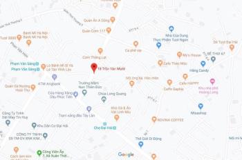 Bán đất rẻ tại mặt tiền đường ở Xuân Thới Thượng, Hóc Môn, 750tr/80m2, có SHR