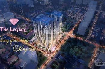 CK 10% tặng ngay 135tr khi mua căn hộ CC The Legacy - hỗ trợ vay 70% - LS 0% - LH 0961360323