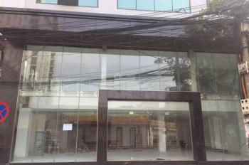 Cho thuê toà nhà mặt phố Cát Linh, DT 230m2 x 4,5 tầng, MT 15m, LH: 0946850055