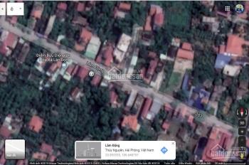 Nhà đất mặt đường trung tâm xã Lâm Động, 139.7m2, hướng Bắc, có nhà 2 tầng hơn 60m2