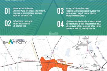 Ra mắt Sapphire 3 Vinhomes Smartcity, lựa chọn căn hộ đẹp, rẻ nhất dự án, CK 11,5% LH 0966888128