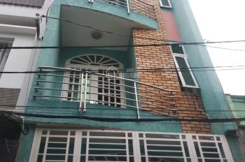 Cho thuê nhà nguyên căn hẻm 6m Tân Hương, 4x15m, 3 lầu ST, 5 phòng ngủ, giá 15 triệu