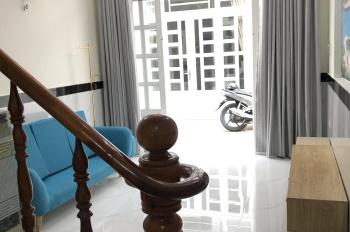 Nhà Q12 3 tấm cách Nguyễn Ảnh Thủ 100m, giá chỉ 1,67 tỷ, tặng full bộ nội thất cao cấp