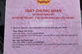 Tôi bán nhà đường Huỳnh Tấn Phát sổ hồng riêng biệt hỗ trợ ngân hàng, ngang 6mx6m, 2,2tỷ, 1 lầu