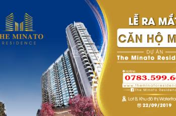 Bán căn hộ chung cư cao cấp Minato gần Cầu Rào 2 - Lê Chân - Hải Phòng. LH: 0783599666
