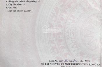 Cần bán gấp lô đất MT TL9 ngay ngã 4 Đức Lập gần Young Town Tây Bắc Sài Gòn, giá chỉ 650 triệu