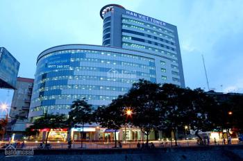 Cho thuê văn phòng Hàn Việt Tower từ 200m2 đến 1200m2, giá từ 280 nghìn/m2/tháng