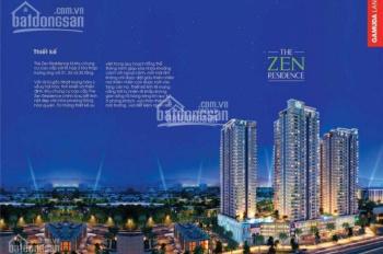 Mua The Zen gamuda Hoàng mai chỉ từ 540tr, CK 5%, Thanh toán 50% nhận nhà, trả chậm 2 năm không lãi