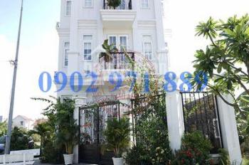 Cho thuê biệt thự Compound Đông Á, gần Trần Não, quận 2, DT 10x20m, gara 3 lầu 6 phòng giá 45 triệu