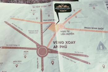 Phố thương gia Thuận An mở bán chỉ cần 550 triệu/nền , đường Phan Đình Giót, An Phú.lh 0981522162