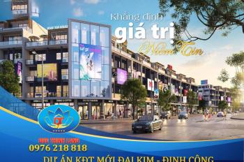 Không thể tin LK Đại Kim Định Công lại nóng đến thế, siêu phẩm mua là lãi MP shophouse giá 55tr/m2