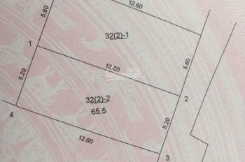 Chính chủ bán 65m2 đất Cửu Việt 2, TT Trâu Quỳ, ô tô vào nhà, giá cực rẻ, 0943219991