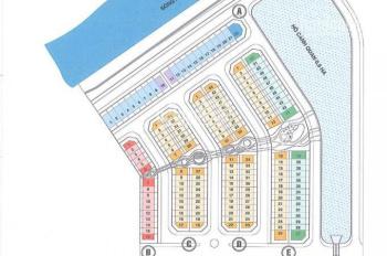 Tôi cần bán căn Shophouse Valencia view hồ dãy E, Đông Nam, 5x17.4m, xây 1 trệt 2 lầu (0906234169)