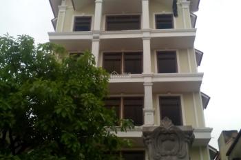 Cho thuê nhà lô góc Nguyễn Thị Định, Trung Hòa, Cầu Giấy 170m2 x 4 tầng, MT 17m giá 52tr/th