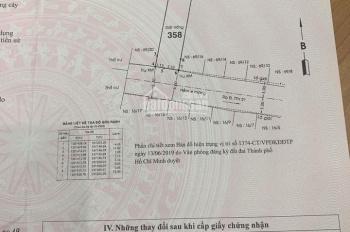 Bán lô đất thổ cư hẻm cụt 6m một sẹc Tân Thới Hiệp 6 giáp với Tân Thới Hiệp 21, giá 3,45 tỷ