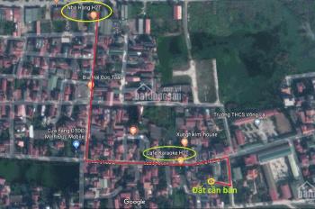 Bán 40.4m2 đất làng sáp Mai Chân cầu Thăng Long, (cổng C khu công nghiệp Bắc Thăng Long)