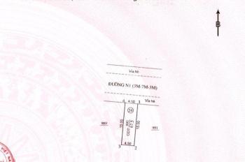 Đất chợ Thành Nam Thuận An, cách vòng xoay An Phú 500m, 67m2 giá 1,05tỷ sổ đỏ thổ cư 100% 094340596