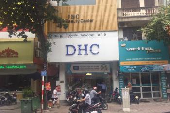 Cho thuê nhà mặt phố số 81 Thái Thịnh, Đống Đa, HN 90m2 x 6T, MT 5,2m, thông sàn, có thang máy