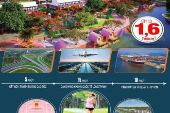 Bán đất Nhơn Trạch, Đồng Nai, chỉ từ 1.6 triệu/m2, pháp lý an toàn, dễ dàng sở hữu, 0901.36.46.79