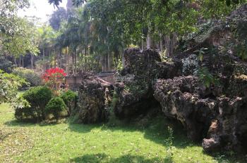 Bán 2500m2 khuôn viên nhà vườn nghỉ dưỡng cuối tuần hoàn thiện, xã Lâm Sơn, Lương Sơn, Hòa Bình