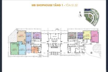 Bán shophouse 2 tầng dự án Sunshine City hỗ trợ lãi suất 0%/18 tháng tỷ suất cho thuê 9%/năm