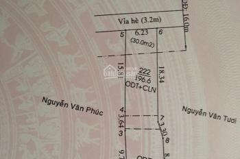 Mặt tiền đường Phú Lợi (ĐT 743), DT 6.23 x 30m, (nở hậu), giá 14 tỷ. LH 0971110488