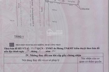 Chính chủ bán nhà mặt tiền số 1261B Huỳnh Tấn Phát, phường Phú Thuận, Q7. DT 127.8m2 giá 16 tỷ 2