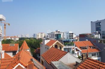 Bán tòa căn hộ dịch vụ 110m2 x 6 tầng ngõ rộng đường Đặng Thai Mai, Tây Hồ. Giá 36,5 tỷ