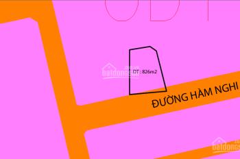 Bán đất 3 mặt tiền đường Hàm Nghi, giá rẻ, LH 0976006506 hoặc 0932490497