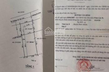 Bán nhà 5x12m gần đường Võ Văn Vân gần ngã 5 Quách Điêu, Vĩnh Lộc, giá tốt đầu tư