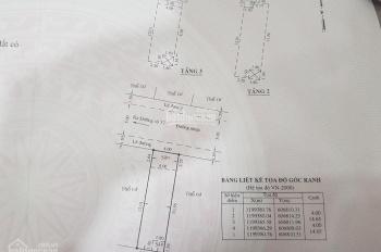 Chính chủ nhà và sổ như hình, 5.9 tỷ, đường 8m, 4x14.5m, 1 trệt + 3 lầu, gần Hiệp Bình, HB Chánh