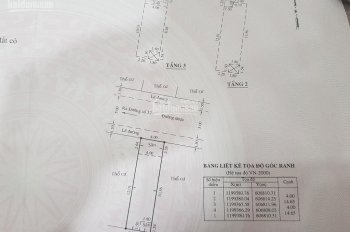 Chính chủ nhà và sổ như hình, 5.9 tỷ, đường 8m, 4x14.5m, 3 lầu, số 3/16B, đường 37, HB Chánh