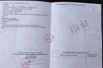 Chính chủ bán đất phường Thuận Giao, Thuận An, Bình Dương
