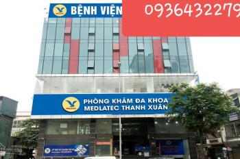Cho thuê nhà 8 tầng mặt phố Trần Đăng Ninh, DT: 170m2 x 8T, MT 15m làm spa, văn phòng, ngân hàng