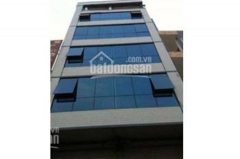 Chính chủ cho thuê nhà ngõ Thiên Hiền, 120m2*6 tầng, thông sàn thang máy, Giá 90 triệu