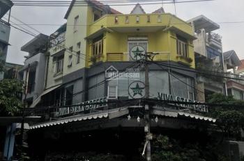 Sang MTKD góc 2 MT đường Út Tịch, P4, TB đang là cafe Viva. DT 8x13m, trệt 2 lầu khu vực sang trọng