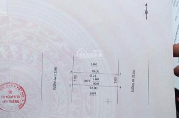Bán lô đất hiếm hai mặt tiền trước sau gần Vincom Plaza và khu thương mại Sóng Thần 550