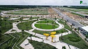 Bán đất KDC Phúc An Garden, MT Quốc Lộ 13, Bàu Bàng, Bình Dương, 100m2/550tr, SH riêng, thổ cư