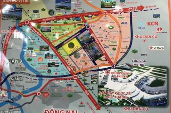 Cần bán đất sân bay Long Thành, MT Lò Gạch Nước Trong, cạnh KCN Long Đức, giá 12tr/m2, LH 093212423