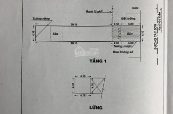 Căn nhà mặt tiền đường lớn Tây Sơn, 112,5m2 LH gặp chính chủ Khả Ngân tiếp môi giới BT 0933 97 3003