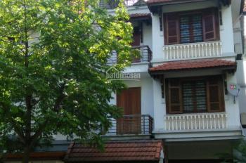 Cho thuê nhà phố Nguyễn Chánh (khu A10 Nam Trung Yên). DT 80m2 x 4,5 tầng, mặt tiền 6m giá 45 tr/th