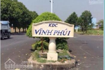 Kẹt tiền sang gấp đất KDC Vĩnh Phú 1, gần VP10, 120m2. SHR, giá 18tr/m2, DT 120m2, 0888.4940.21